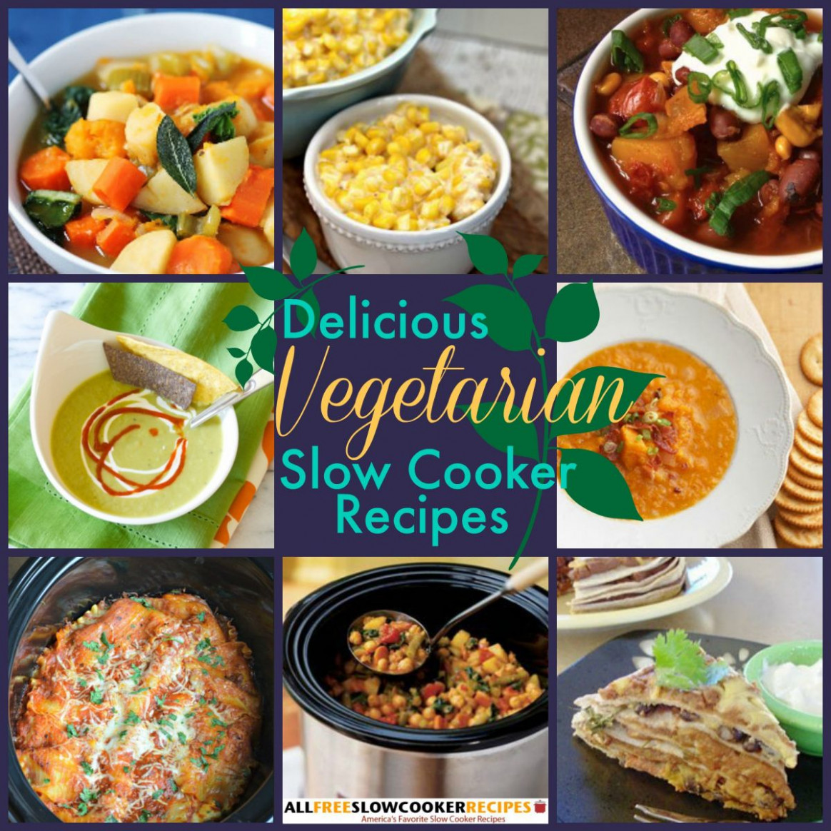 23 Vegetarian Slow Cooker Recipes ..