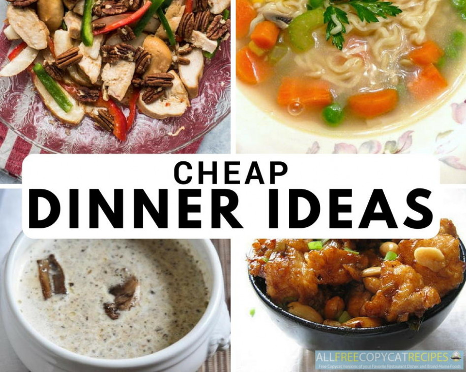 24 Cheap Dinner Ideas for the Thrifty Chef ..