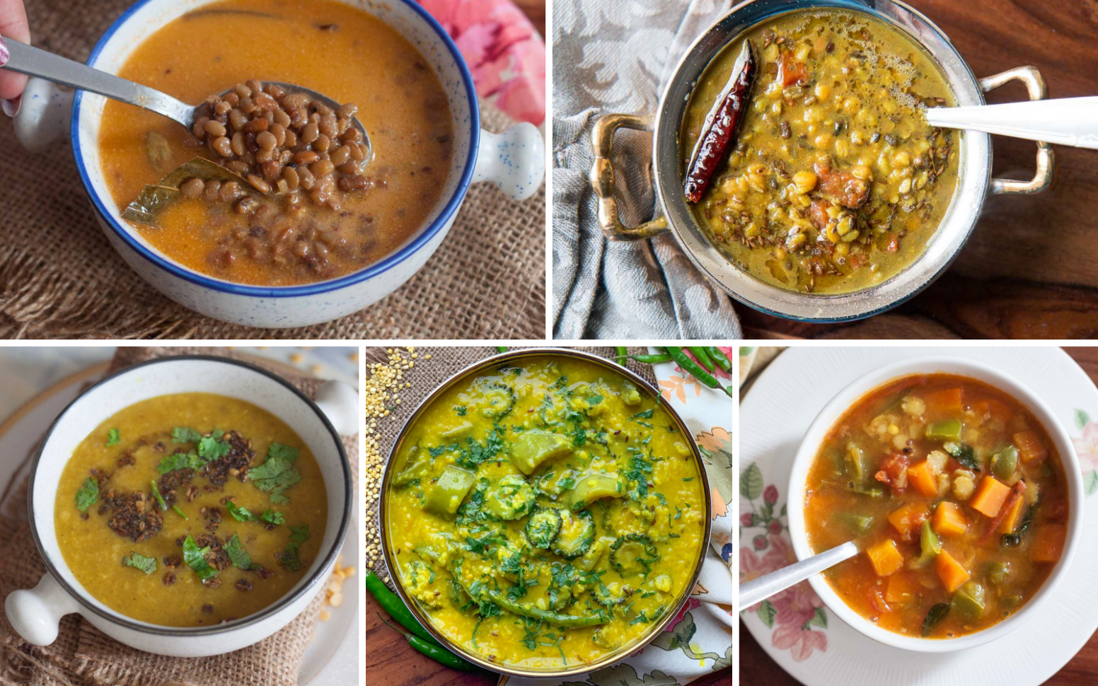 24 No Onion & No Garlic North Indian Dal Recipes For Lunch ..