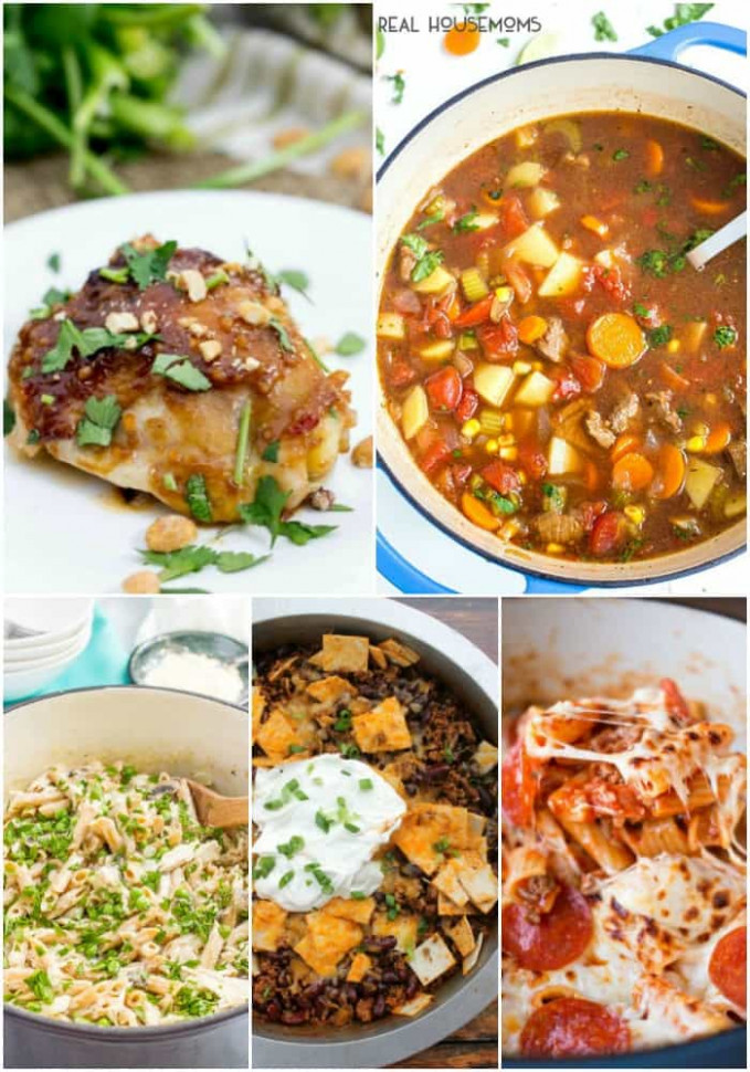 25 Easy Dinner Recipes for Busy Weeknights ⋆ Real Housemoms - dinner recipes simple