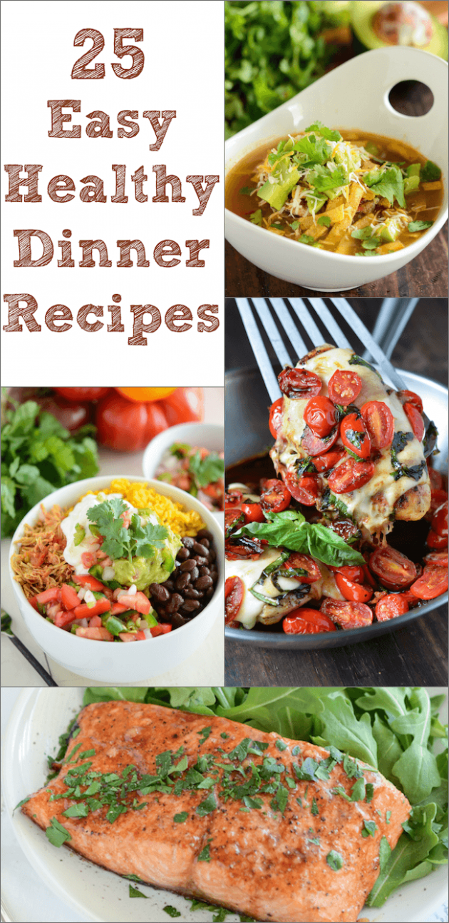 25 Easy Healthy Dinner Recipes | The Novice Chef - recipes healthy dinner