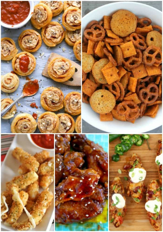 25 Football Party Finger Foods Everyone Loves ⋆ Real Housemoms - recipes party finger food