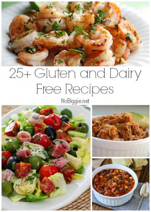 25+ Gluten Free and Dairy Free Recipes - gluten free dairy free recipes dinner