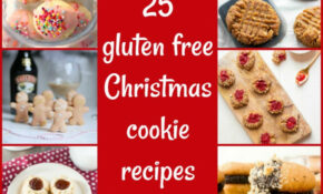 25 Gluten Free Christmas Cookie Recipes For Your Holiday ..