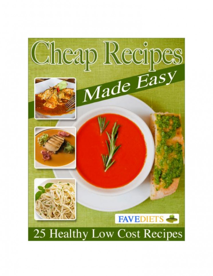 25 healthy low cost recipes