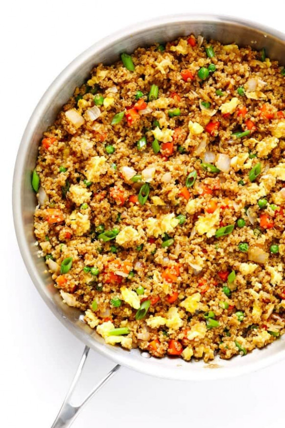 25 Healthy Quick and Easy Dinner Recipes to Make at Home - dinner recipes quinoa