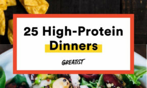 25 High Protein Dinners That Don't Involve Chicken (for ..