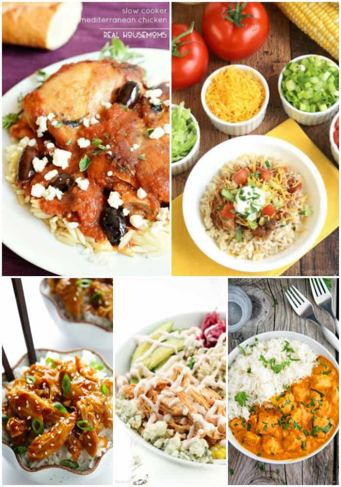 25 Low Fat Crock Pot Recipes ⋆ Real Housemoms - Low Fat Recipes Chicken