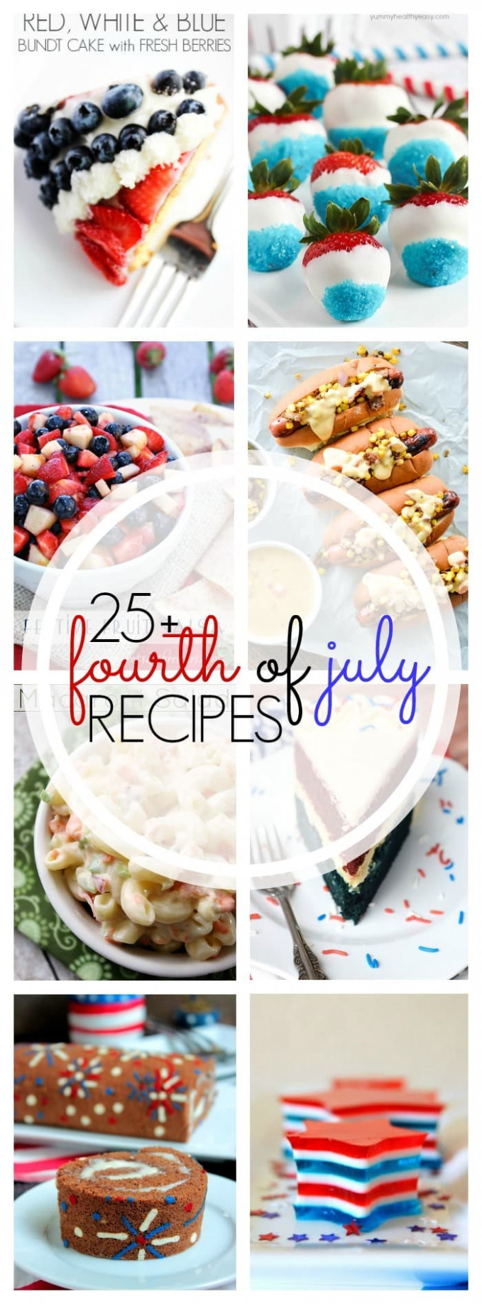 25+ Must-See July 4th Recipes! - Yummy Healthy Easy - healthy fourth of july recipes