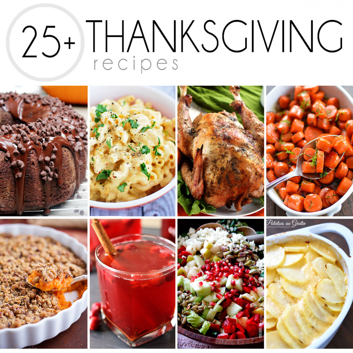 25+ Thanksgiving Recipes - recipes thanksgiving dinner