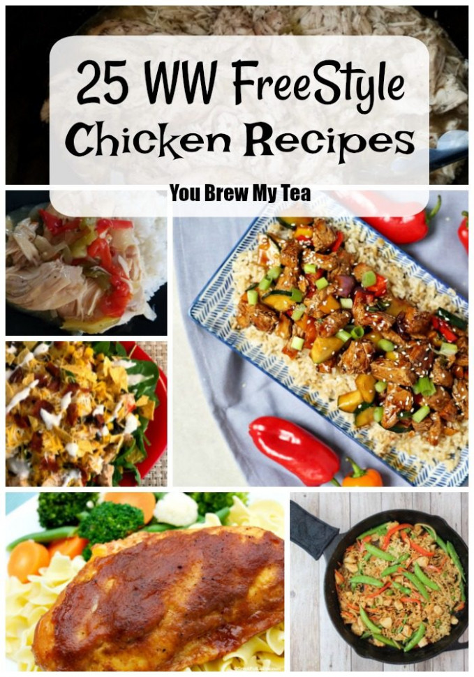 25 Weight Watchers Chicken Recipes - You Brew My Tea for ..