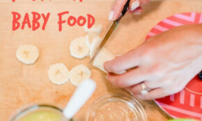 27 Easy DIY Baby Foods – 1 Year Old Baby Food Recipes