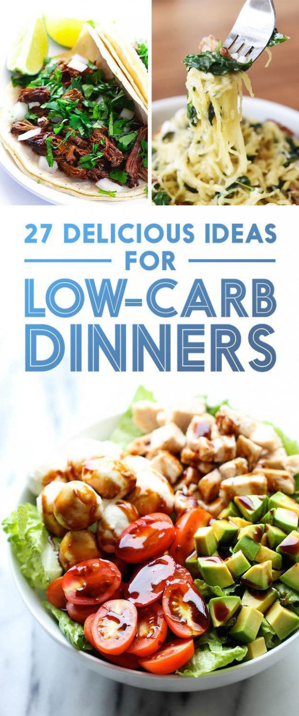 27 Low-Carb Dinners That Are Actually Delicious | Low Carb ..