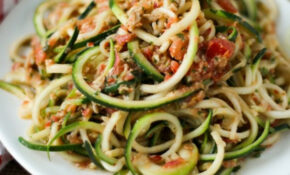 28 Irresistible And Quick Zoodle (Zucchini Pasta) Recipes – Vegetarian Recipes Zoodles
