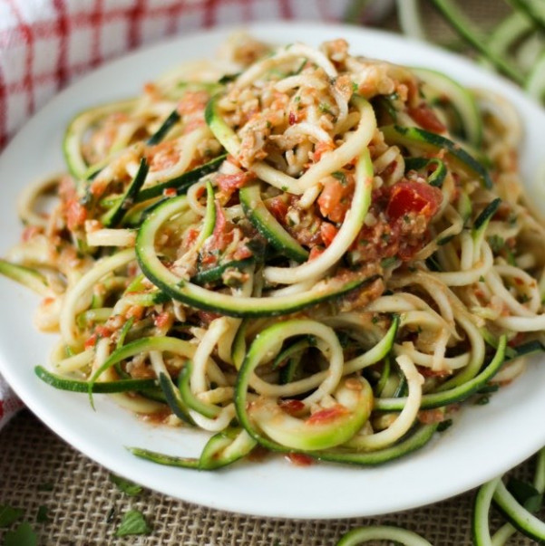 28 Irresistible and Quick Zoodle (Zucchini Pasta) Recipes - vegetarian recipes zoodles