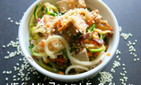 28 Irresistible And Quick Zoodle (Zucchini Pasta) Recipes – Zoodle Recipes Vegetarian