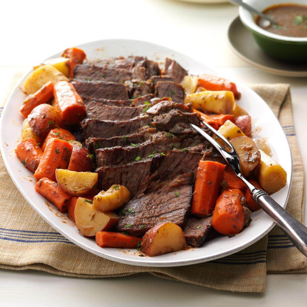 29 Mouth-Watering Pot Roast Recipes | Taste of Home - recipes dinner beef