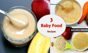 3 Baby Food Recipes || 7 To 12 Months Baby Food || Healthy ..