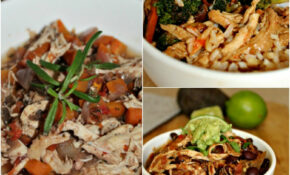 3 Easy Slow Cooked Chicken Recipes With 10 Ingredients Or ..