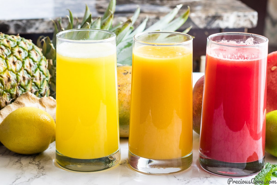 3 HEALTHY JUICE RECIPES (VIDEO) | Precious Core - healthy recipes juice
