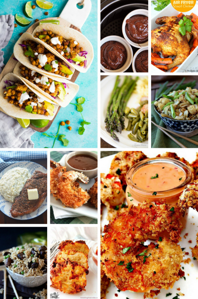 30 Air Fryer Recipes - Dinner at the Zoo - air fryer recipes dinner