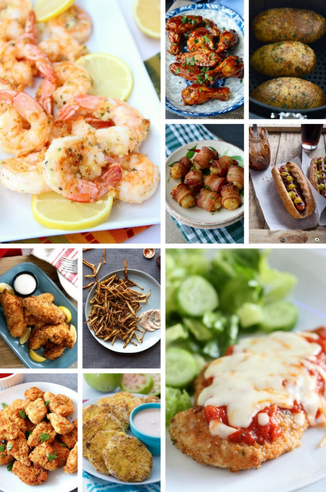 30 Air Fryer Recipes - Dinner at the Zoo - recipes air fryer dinner