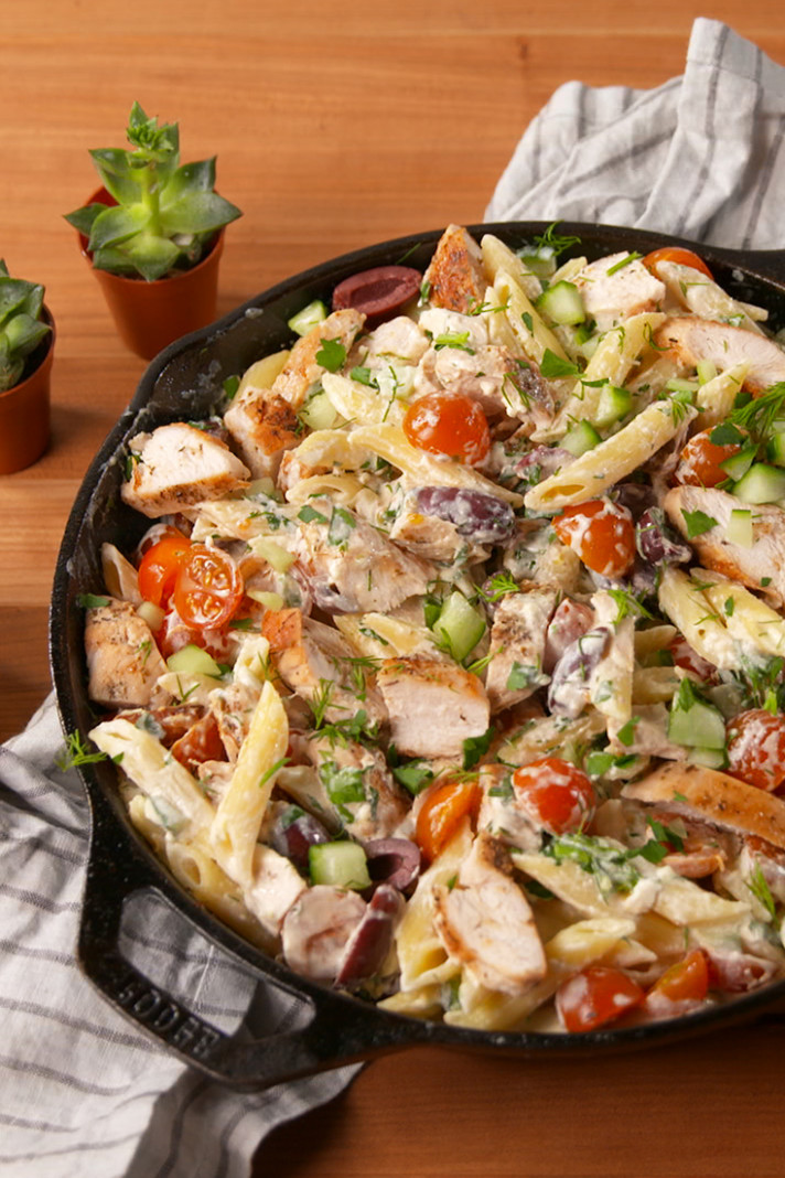 30 Easy Chicken Pasta Recipes - Light Pasta Dishes With ..