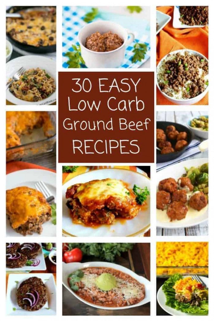 30 Easy Low Carb Ground Beef Recipes (Atkins) | Low Carb Yum - low carb ground beef recipes for dinner