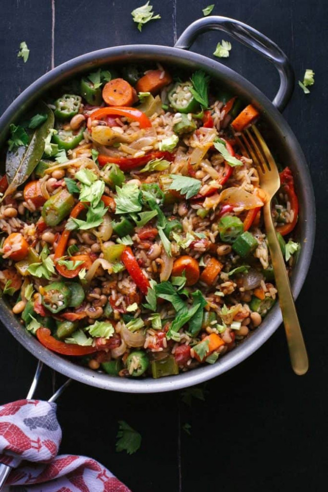 30 Easy Vegan One Pot Meals - Vegan Heaven - recipes of vegetarian dishes