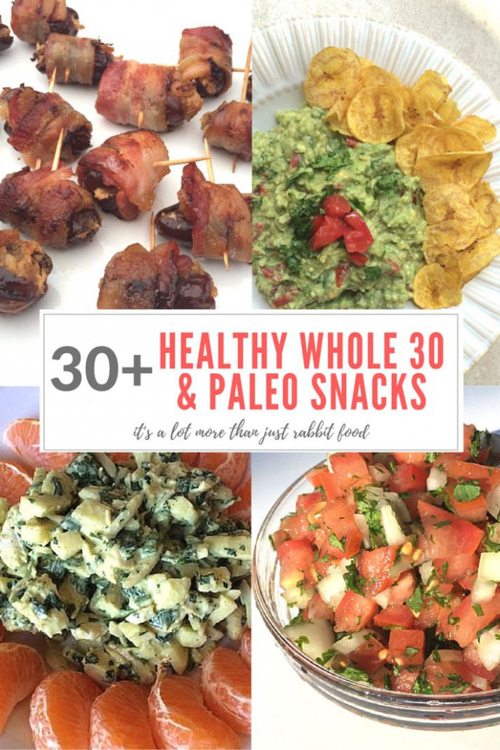 30+ Healthy Whole 30 & Paleo Snacks | Best Whole30 Recipes ..