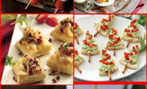 30 Holiday Appetizers Recipes for Christmas and New Year ...