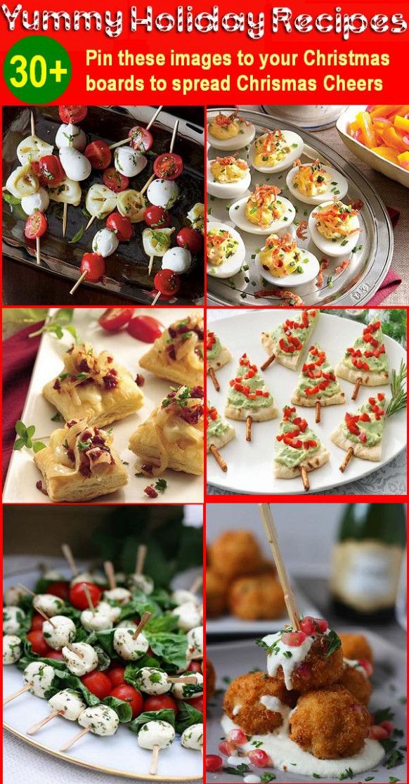 30 Holiday Appetizers Recipes for Christmas and New Year ..