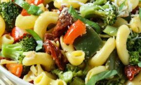 30 Min Stir Fry Vegetable Pasta Salad Recipe (Video ..