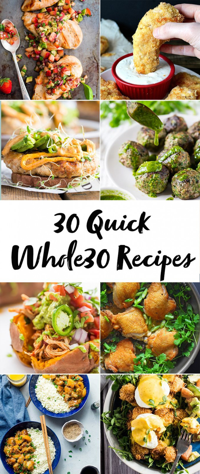 30 Quick Whole30 Recipes (Whole30 Dinner Recipes) - whole30 recipes dinner