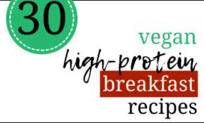 30 Vegan High Protein Breakfast Recipes For Weight Loss ..