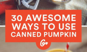 30 Ways To Use Canned Pumpkin – FlowerPower Vase – Recipes Canned Pumpkin Healthy