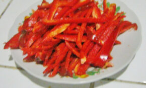 300 Red Bell Peppers – Recipes Guatemalan Food