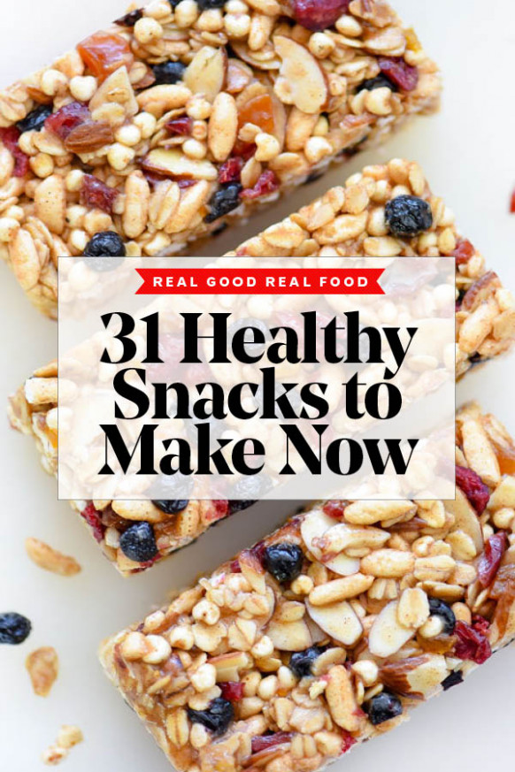 31 Days Of Healthy Snack Recipes To Make Now | Foodiecrush ..