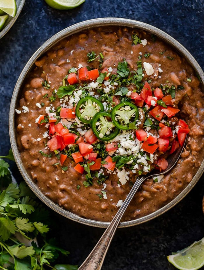 32 Healthy Instant Pot Recipes (Everyone Loves!) | Detoxinista - healthy recipes refried beans