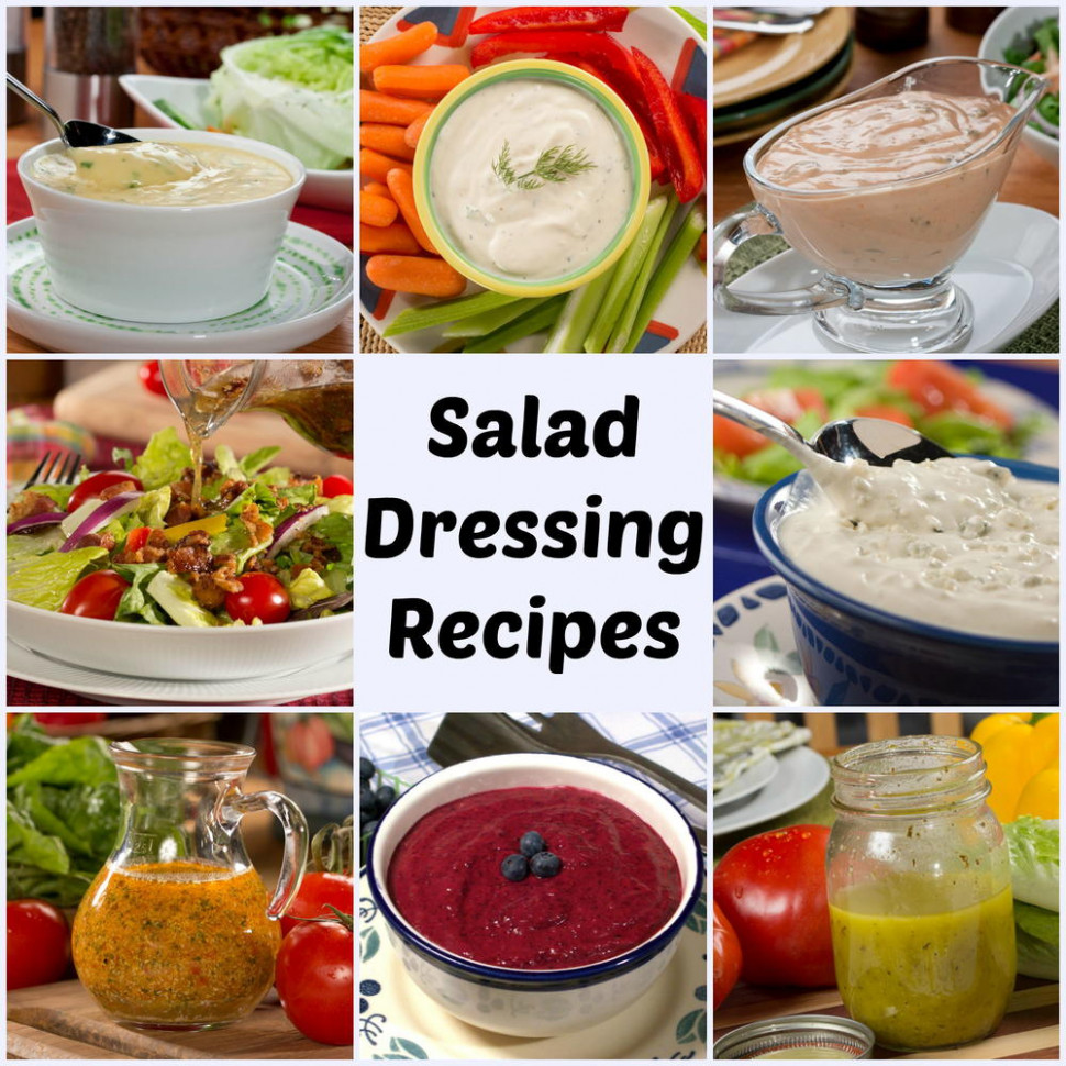33 Cheap, Easy Salad Dressings To Make At Home | MrFood