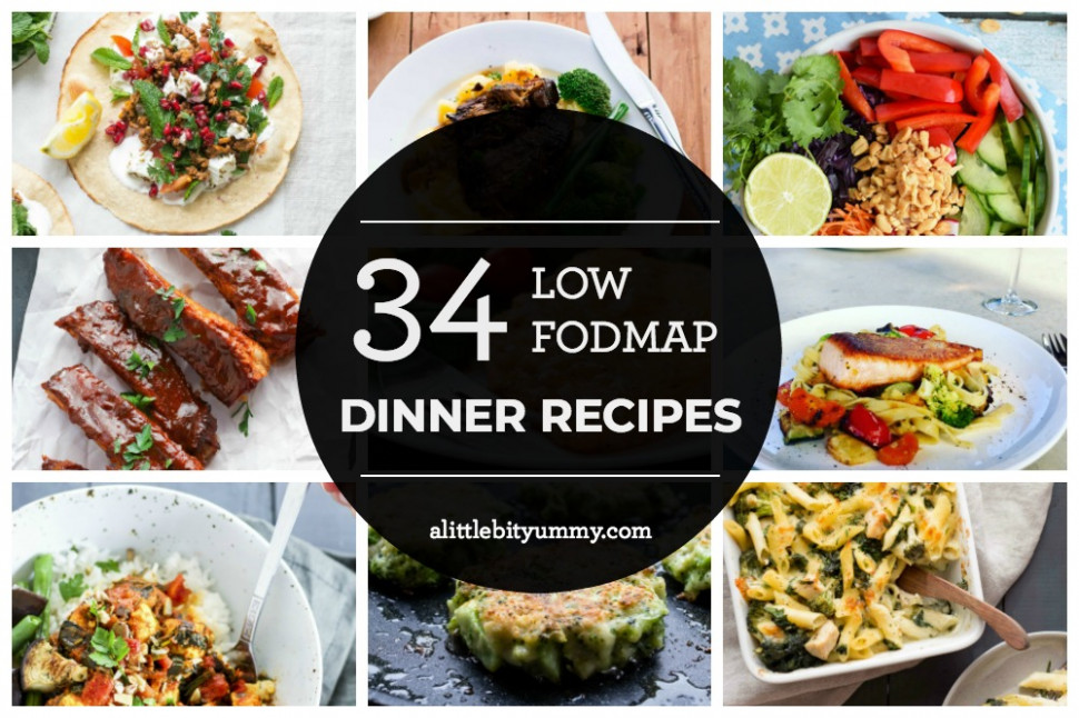 34 Low FODMAP Dinner Recipes - A Little Bit Yummy - low fodmap recipes vegetarian
