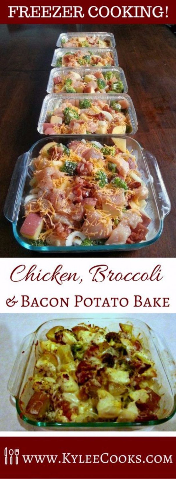 37 Healthy Crockpot Recipes To Make and Freeze Ahead of Time - healthy recipes to freeze