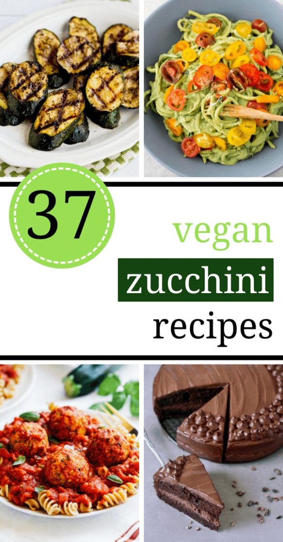 37 Healthy Vegan Zucchini Recipes For Dinner | The Green Loot - Healthy Zucchini Recipes Vegan