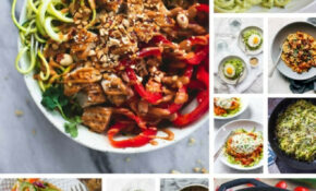 39 Healthy Zoodle (Zucchini Noodle) Recipes – Dinner At ..