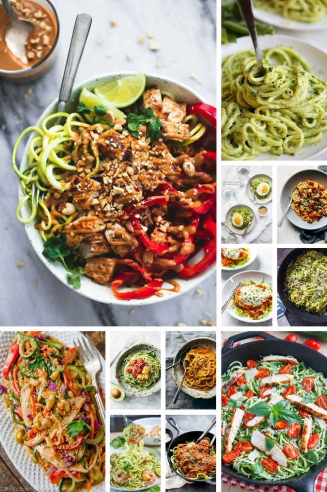 39 Healthy Zoodle (Zucchini Noodle) Recipes - Dinner at ..