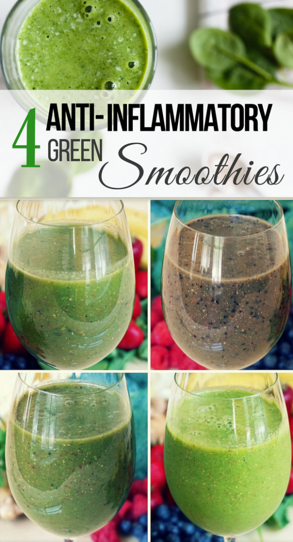 4 Anti-Inflammatory Green Smoothie Recipes | Healthy Taste ..