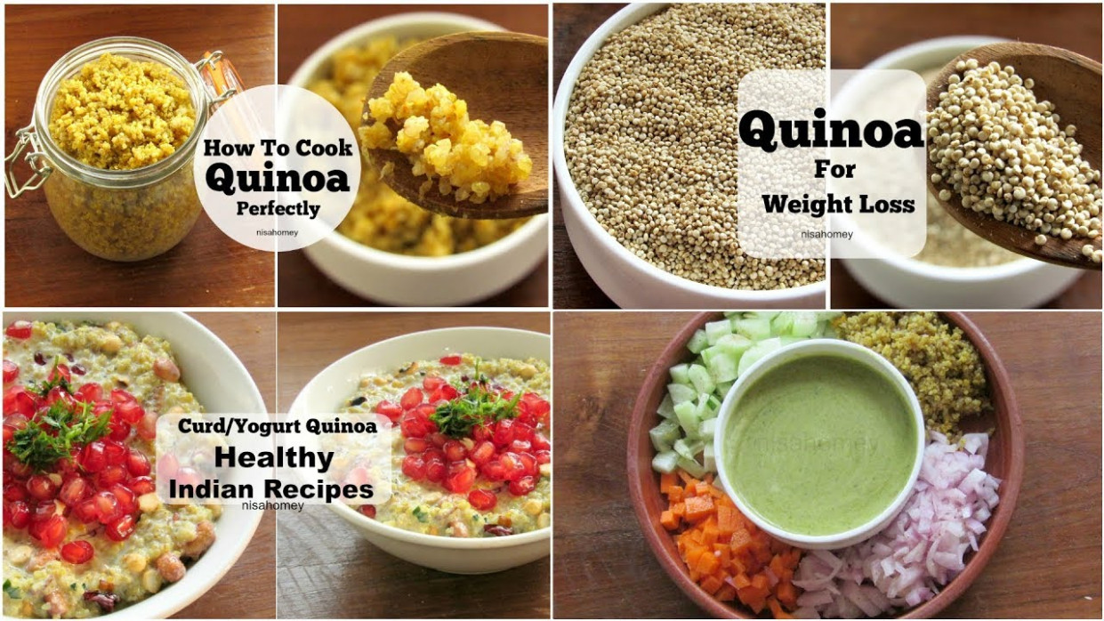 4 Healthy Quinoa Recipes For Weight Loss - Dinner Recipes ..