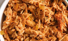4 Ingredient Slow Cooker Mexican Shredded Chicken (Go To ..