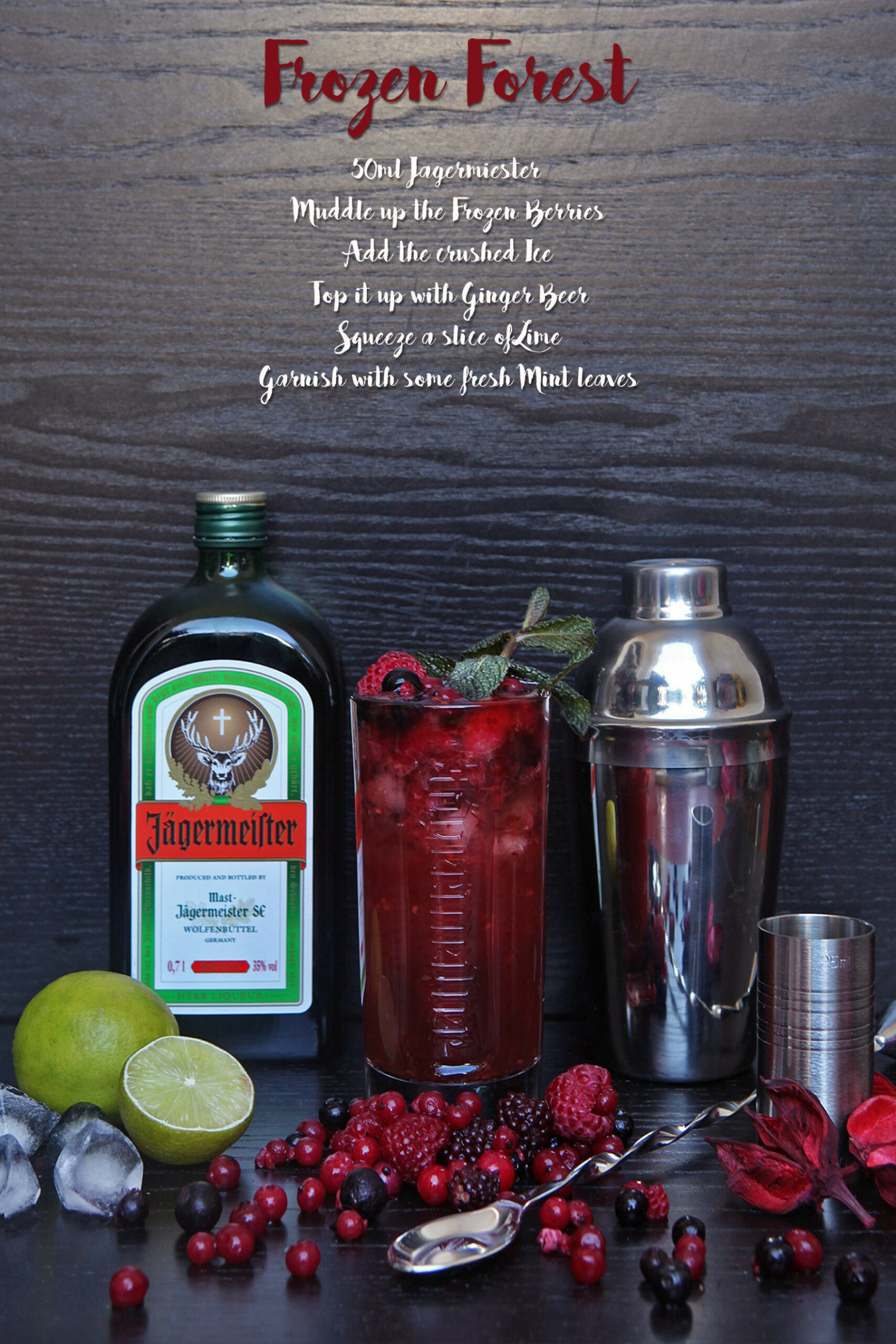 4 new Jagermeister Cocktails to try at home - food recipes using jagermeister
