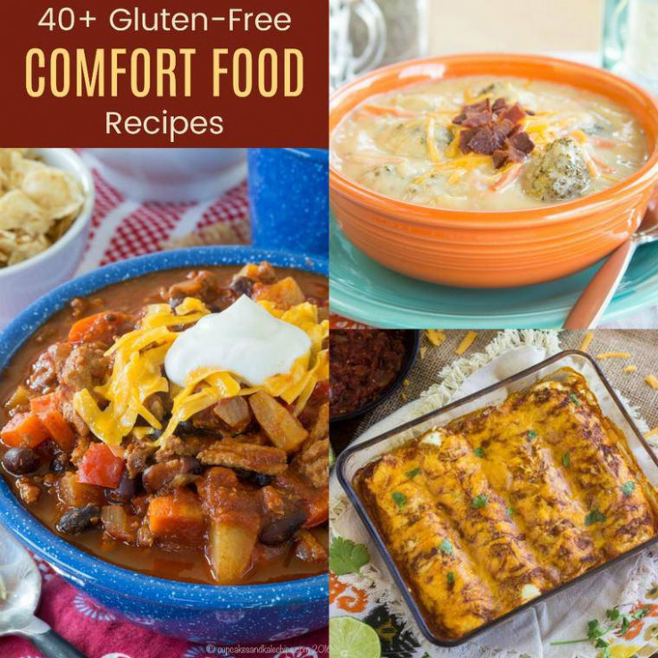 40+ Gluten Free Comfort Food Recipes - Cupcakes & Kale Chips - recipes comfort food